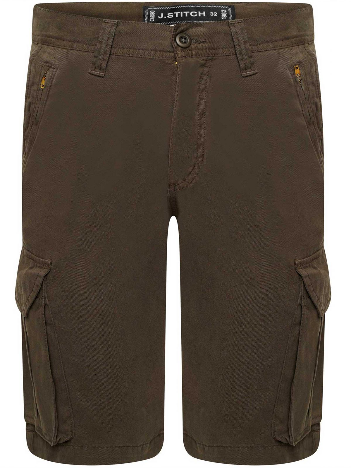Kruze Mens Soft Cotton Cargo Summer Shorts