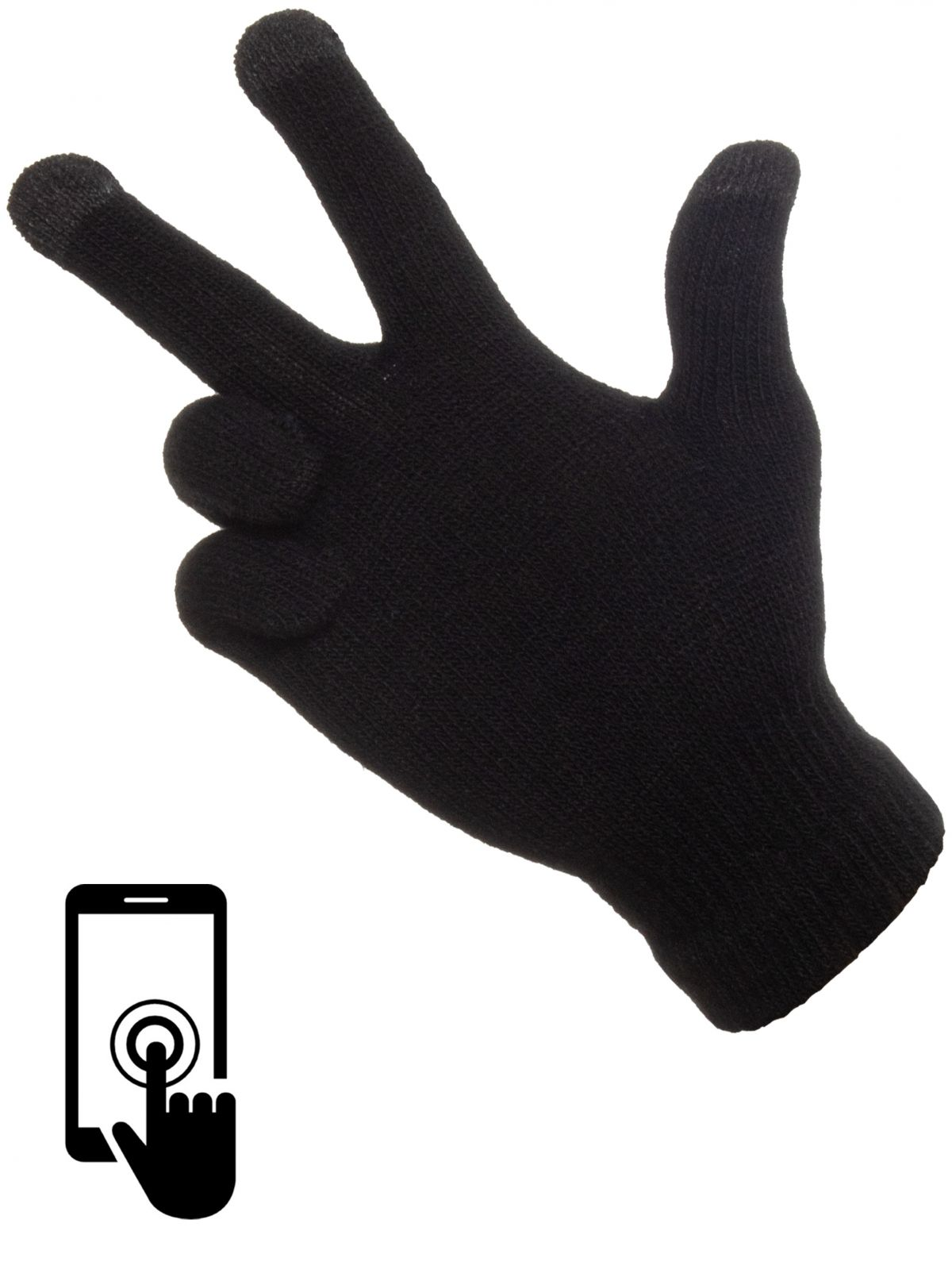 Accessories | Unisex Touch Screen Warm Stretch Knit Gloves