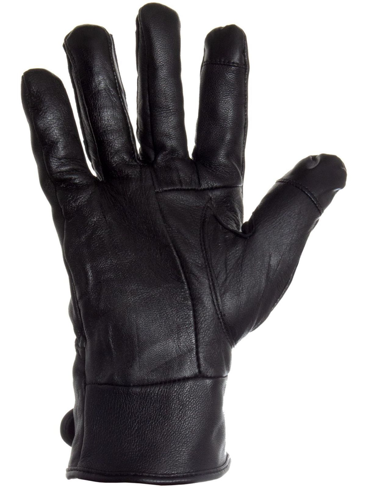 Accessories | Mens Touch Screen Gloves 100% Genuine Leather Thermal Lined Winter Driving Glove