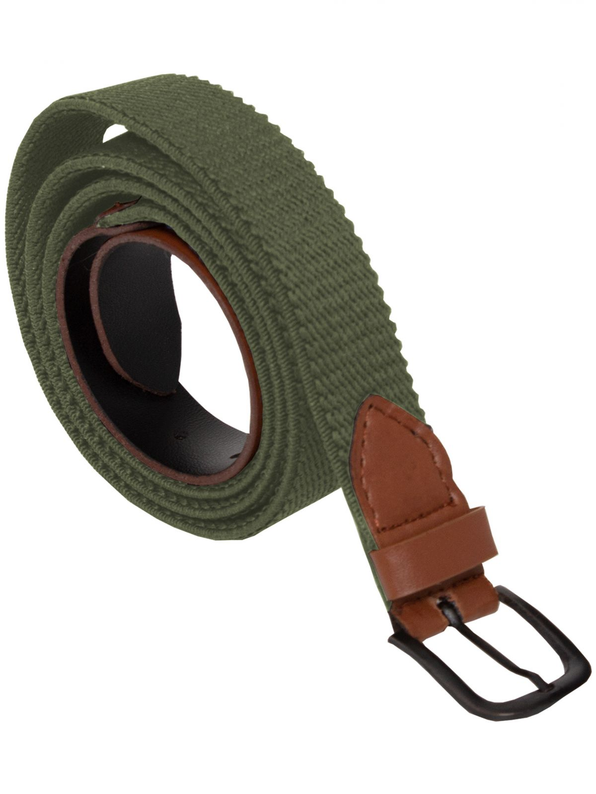Accessories | ENZO Mens Canvas Elasticated Belt Stretch Womens Unisex Adjustable Buckle | Enzo Designer Menswear