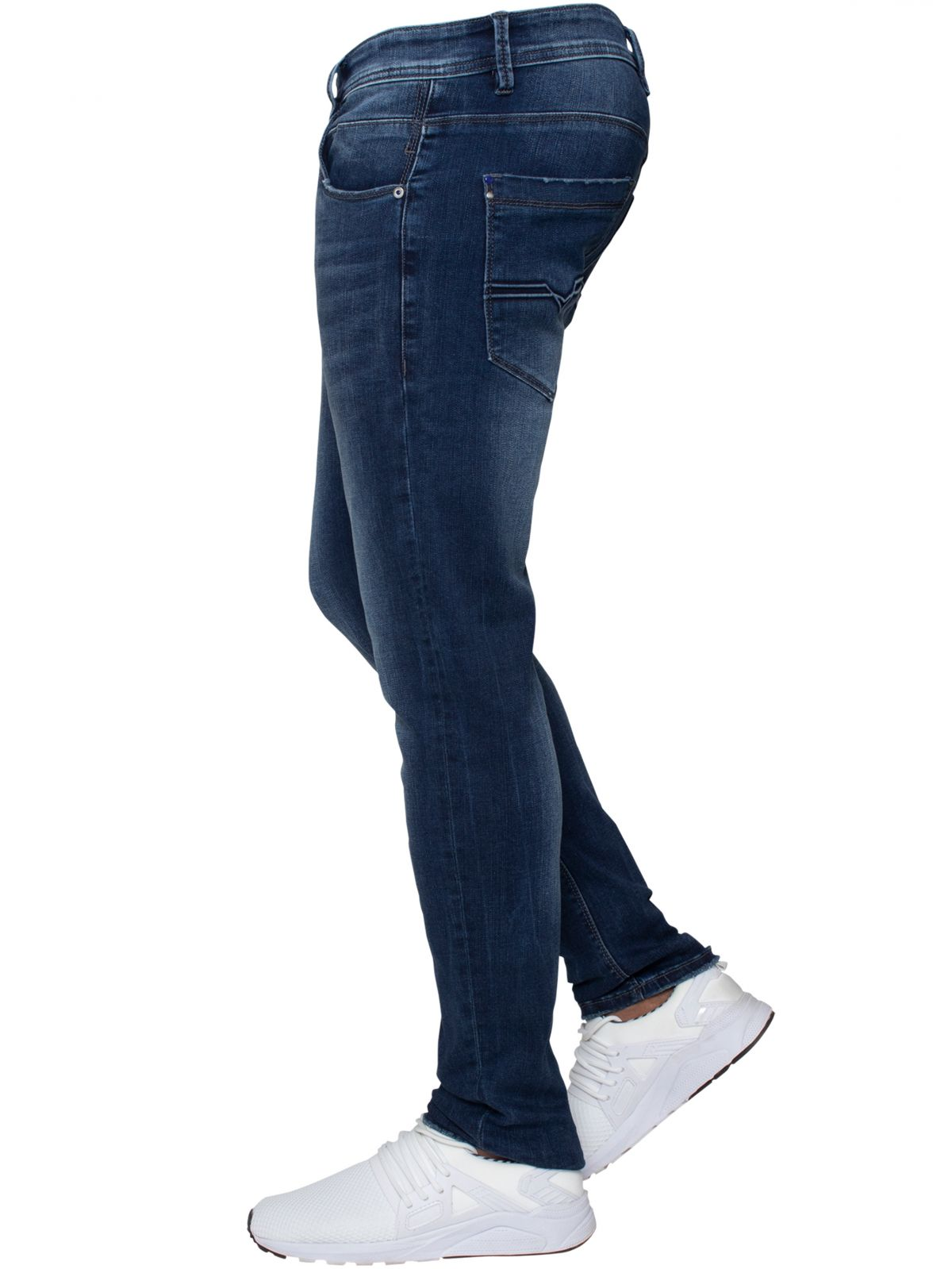 ETO | Mens Designer Basic Hyperstretch Blue Jeans