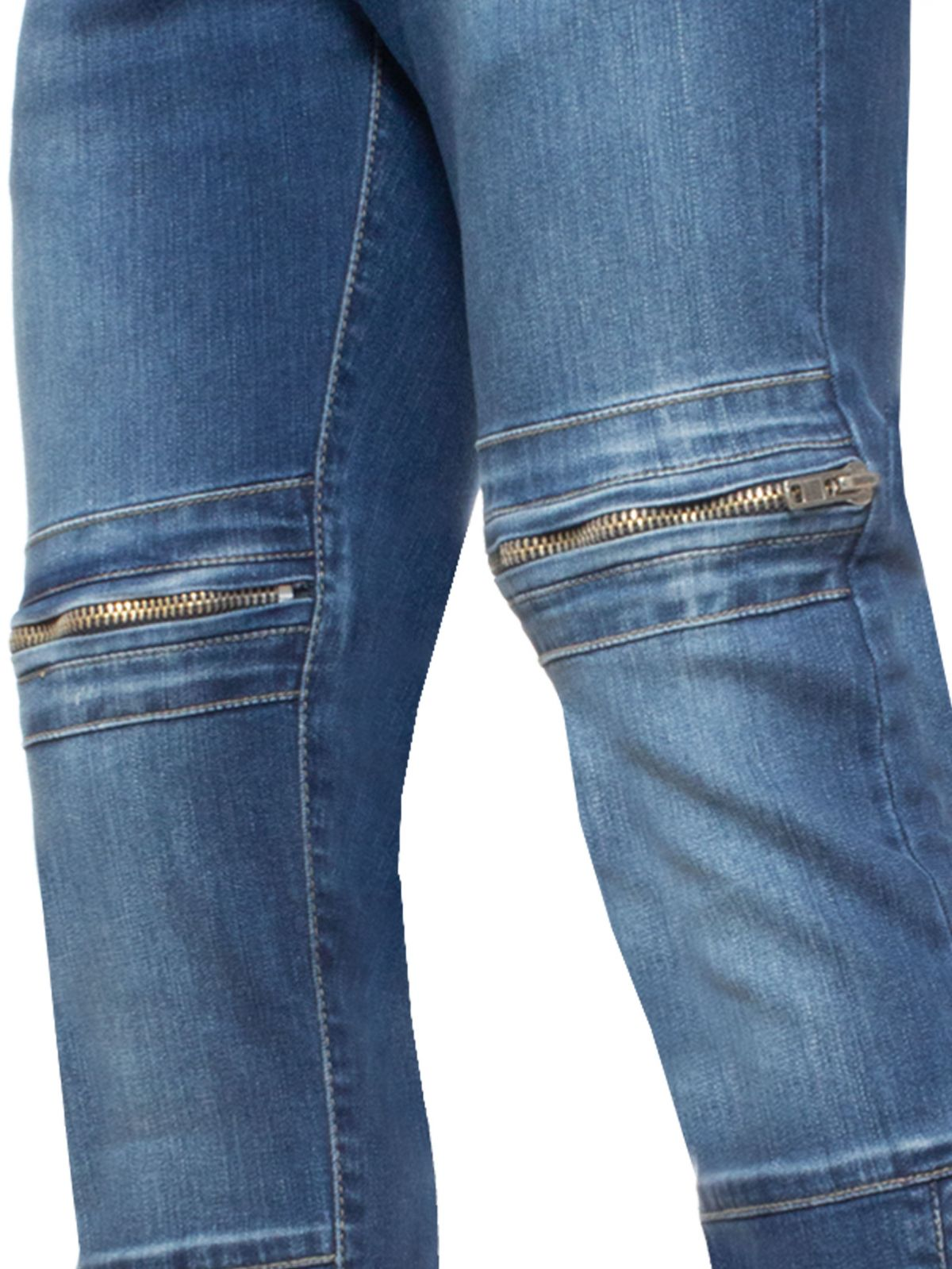 Mens APT Straight Leg Stretch Denim Jeans
