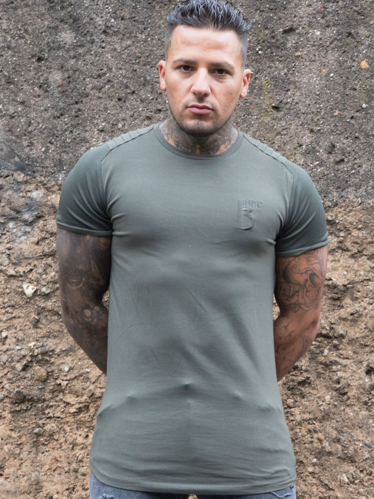 Clearance | Men's Designer Athletic Fit T-shirt | Bound By Honour