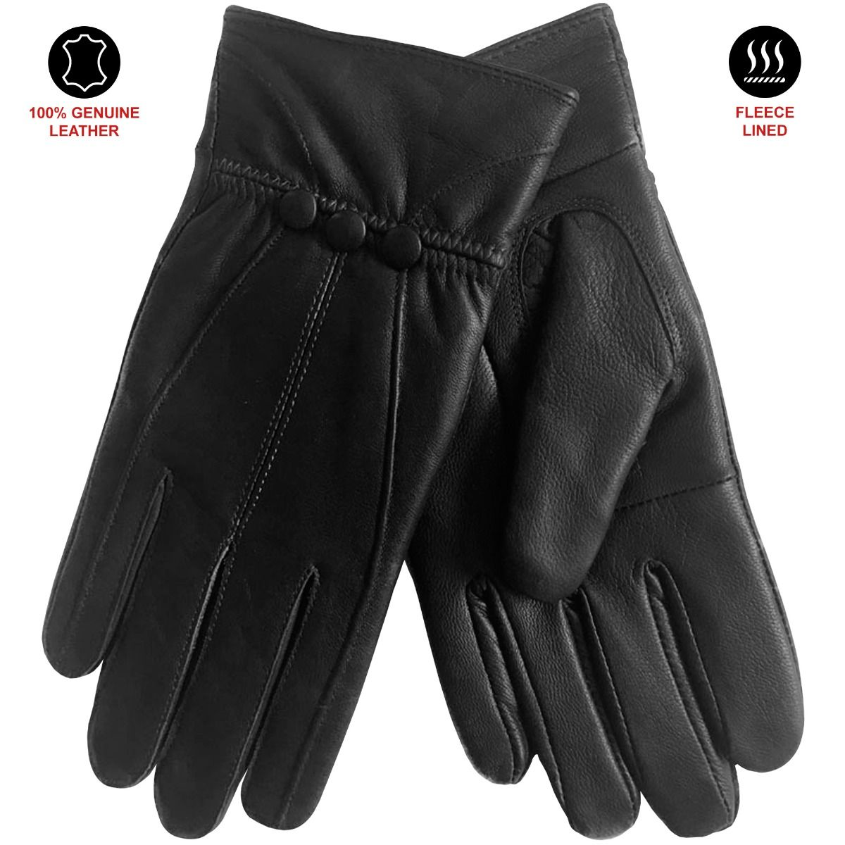 Accessories   Womens Soft Genuine Leather Gloves