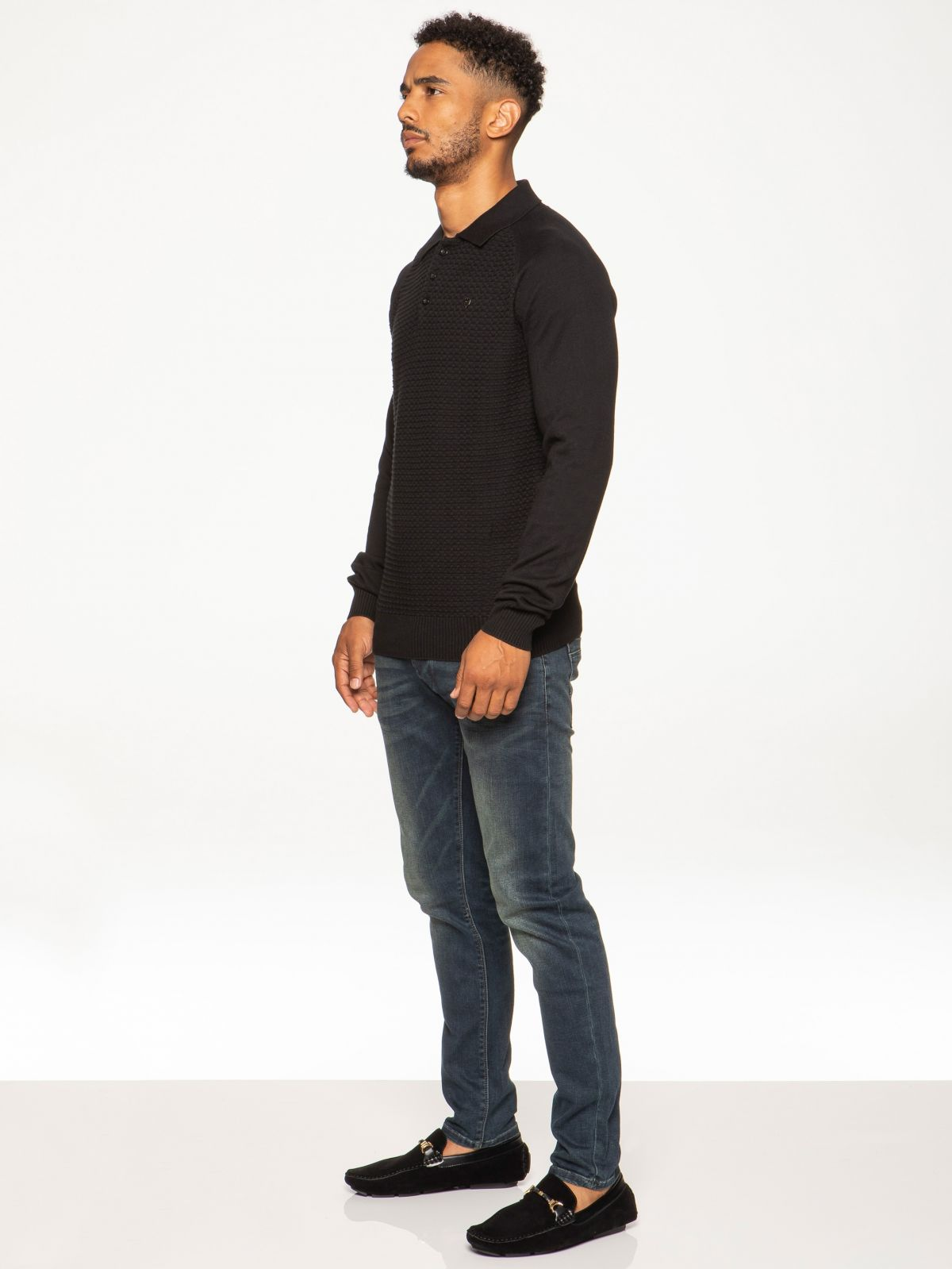 Mens Clothing | Smart Casual Polo Knitwear