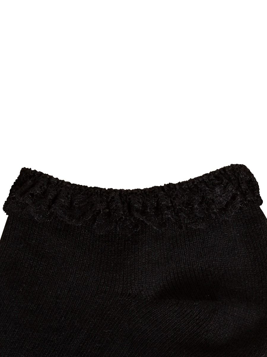 Accessories | Girls Lace Trainer Liner Socks Frilly Lace Trim Ankle Fancy Dress Sock 3, 6 Pack.