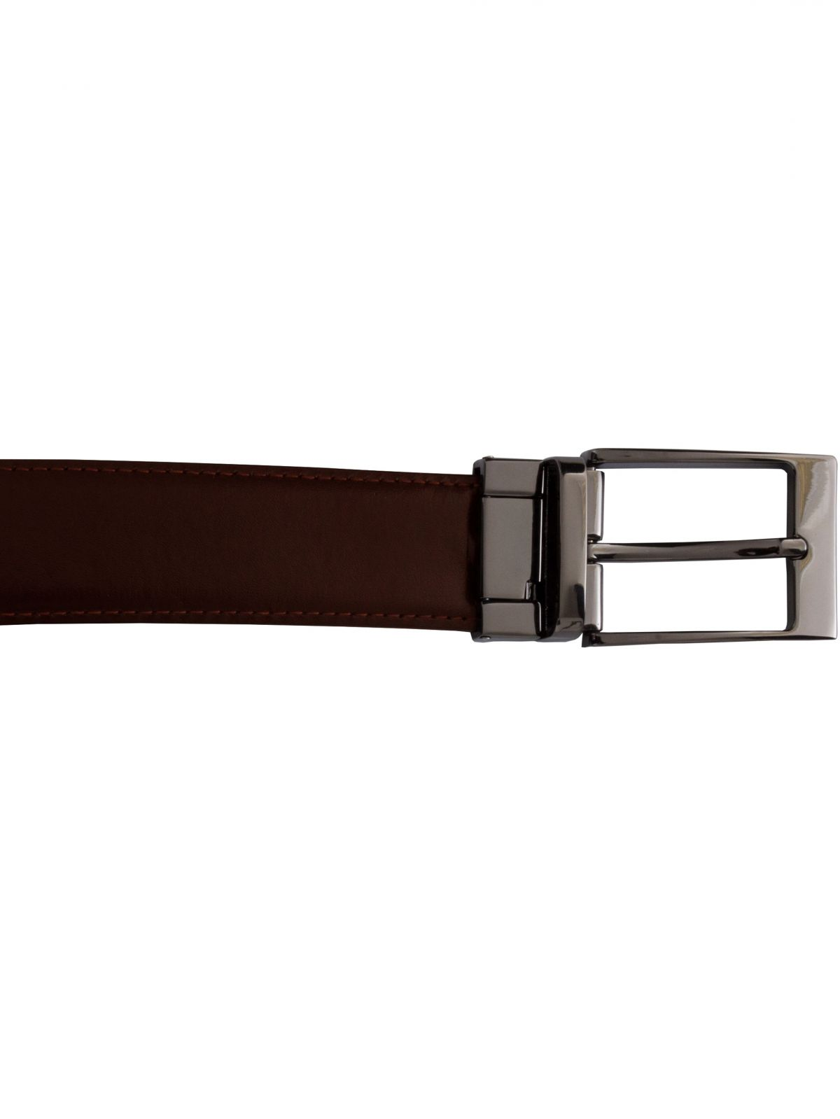 Accessories | Mens Genuine Leather Belt With Reversible Buckle Belt