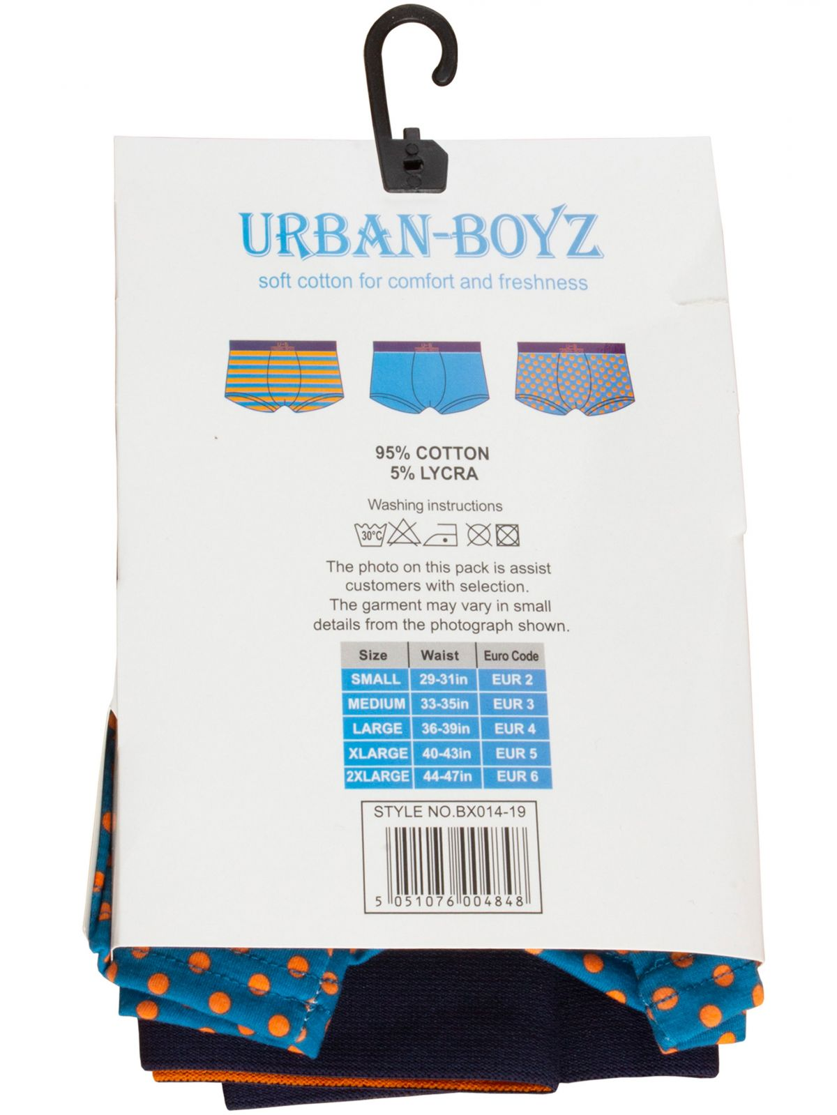 Accessories | Mens Cotton Boxer Shorts Assorted 3 & 4 Pack