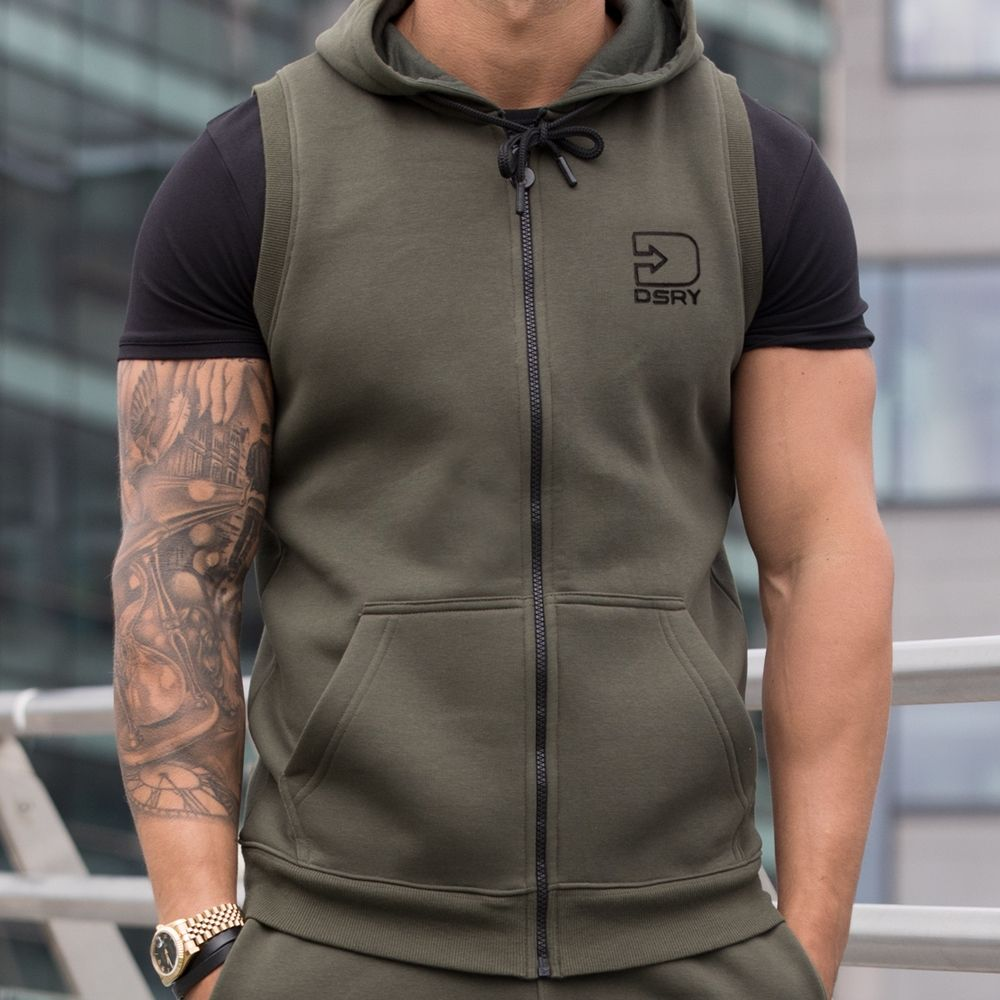 Clearance | Wave Sleeveless Hood | Bound By Honour | DSRY