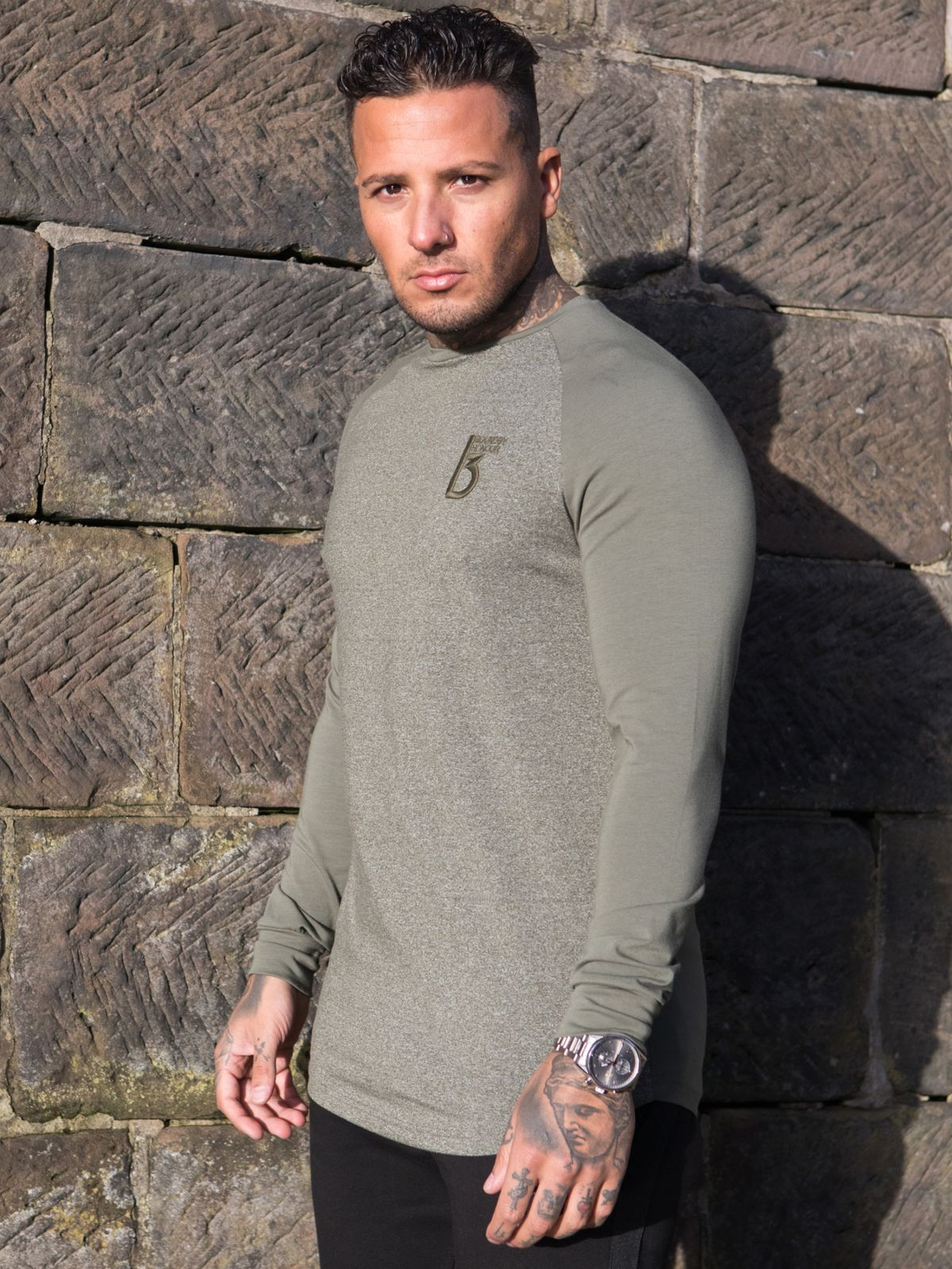 Clearance | Gear Long Sleeve T-Shirt  | Bound By Honour