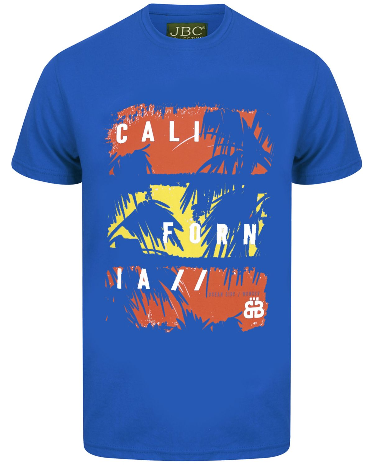 Short Sleeved Men's Printed California T-shirt