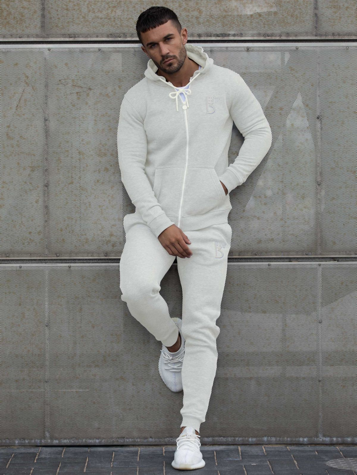 Scale Zipped Tracksuit Hood | Bound By Honour
