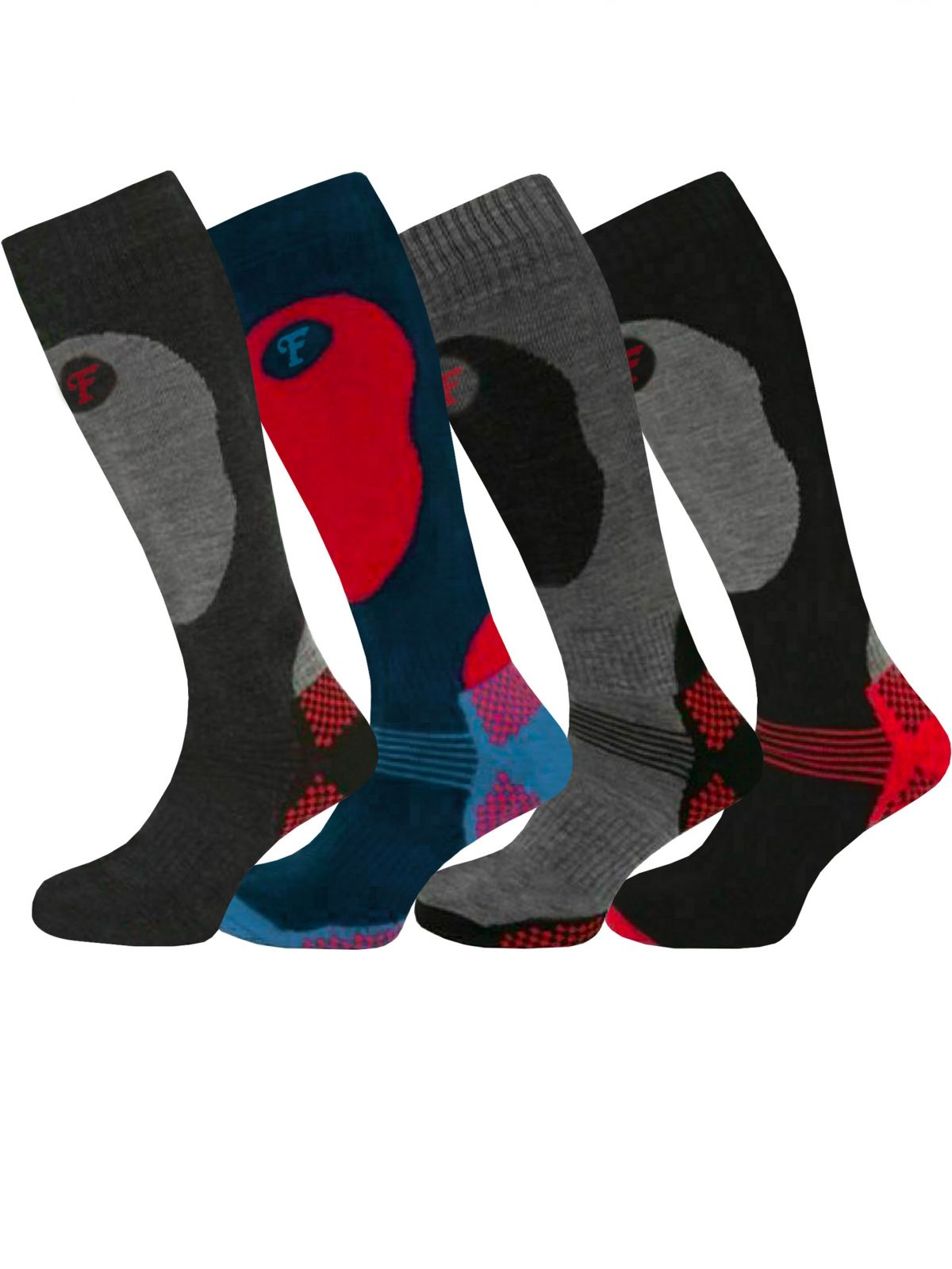 Accessories   Mens Winter- Warm Thermal Ski Socks Multi Pack , From £3.99, Guest Brand, in Multicolour   Raw Denim Outlet