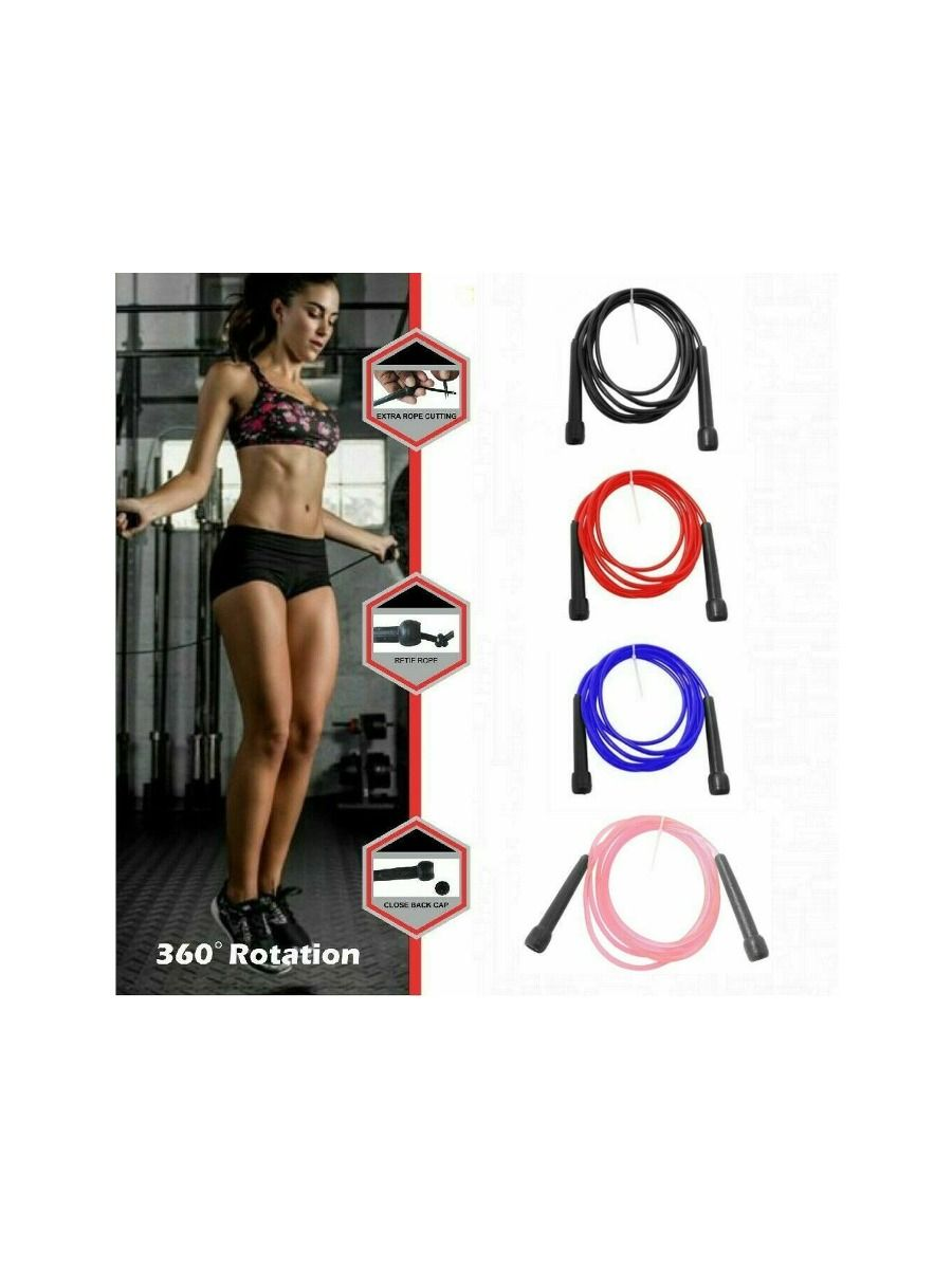 Adjustable Jumping Speed Boxing Exercise For Adults And Kids | Skipping Rope