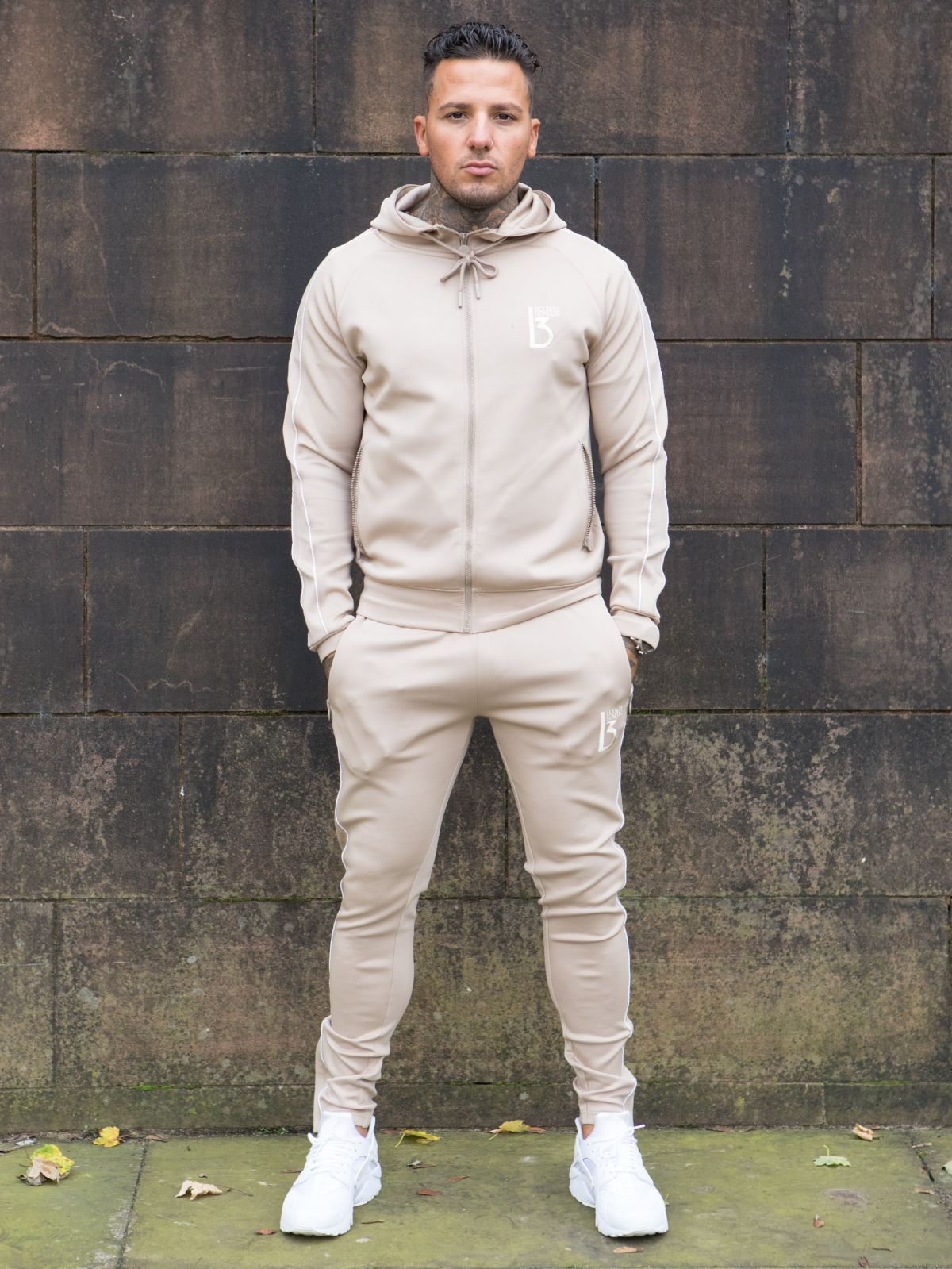 Siren Zipped Poly Tracksuit Hood | Bound By Honour