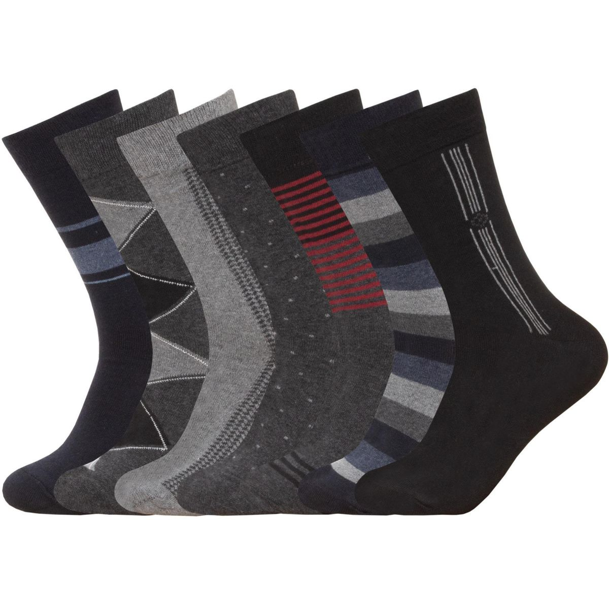 Accessories | 7 Pack Mens Socks 7 Days of the Week Casual Smart Work Socks 6 - 11, From £5.49, Guest Brand, in  | Raw Denim Outlet