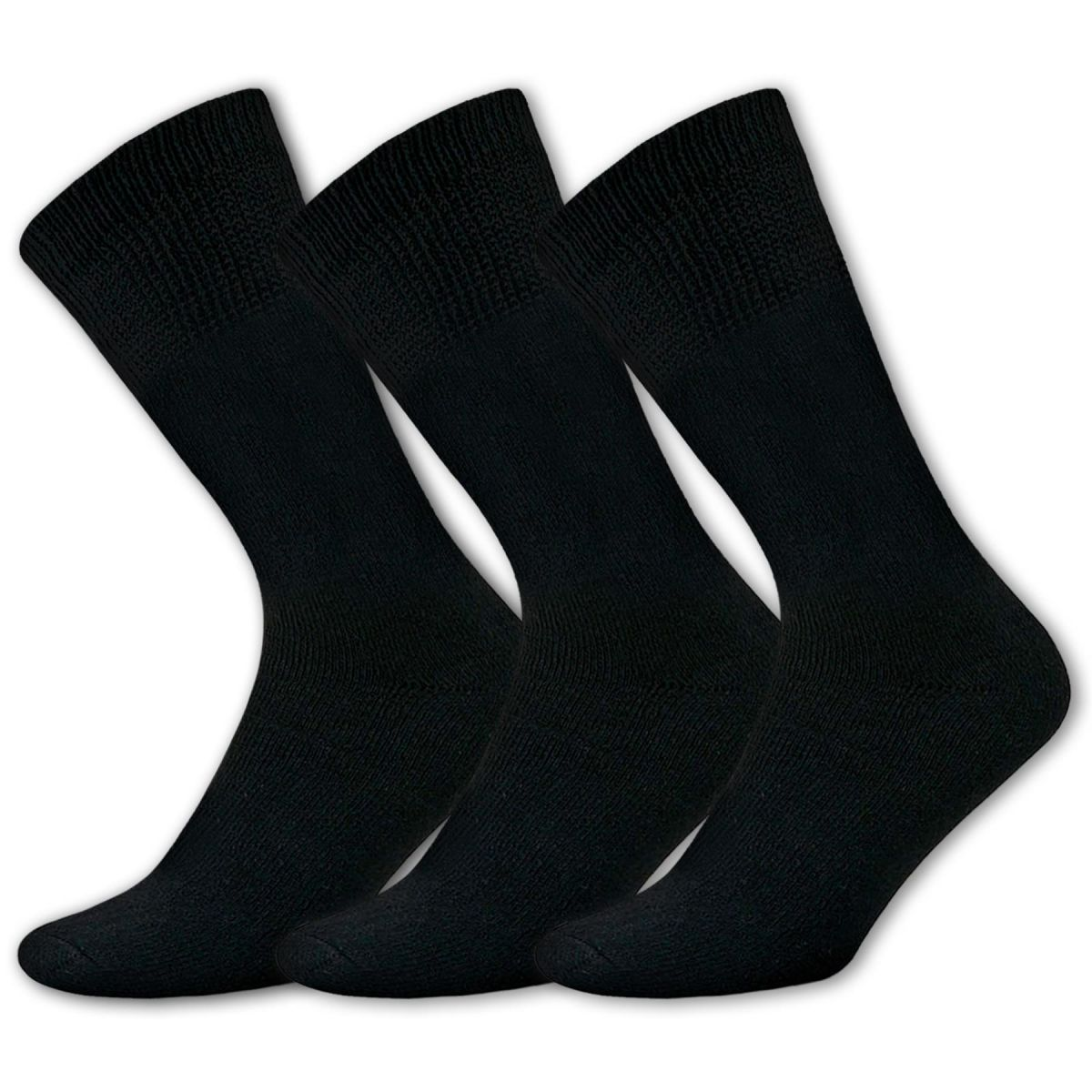 Accessories | Mens Diabetic Bamboo Extra Wide Super Soft Loose Top Socks