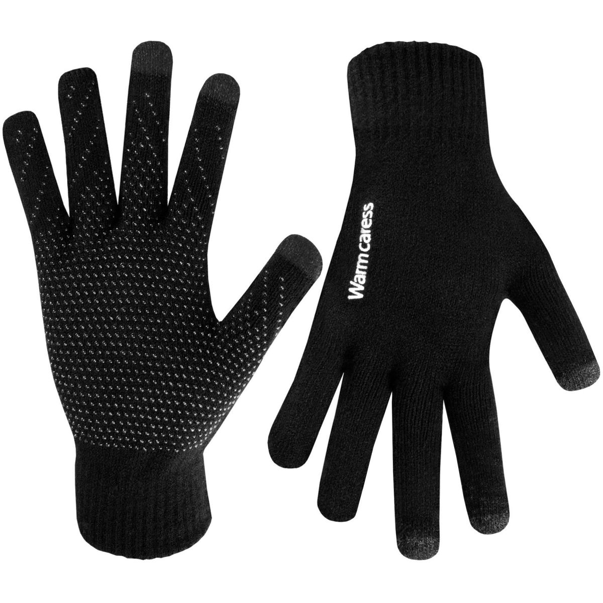 Accessories |  Womens Black Gripper Thermal Gloves