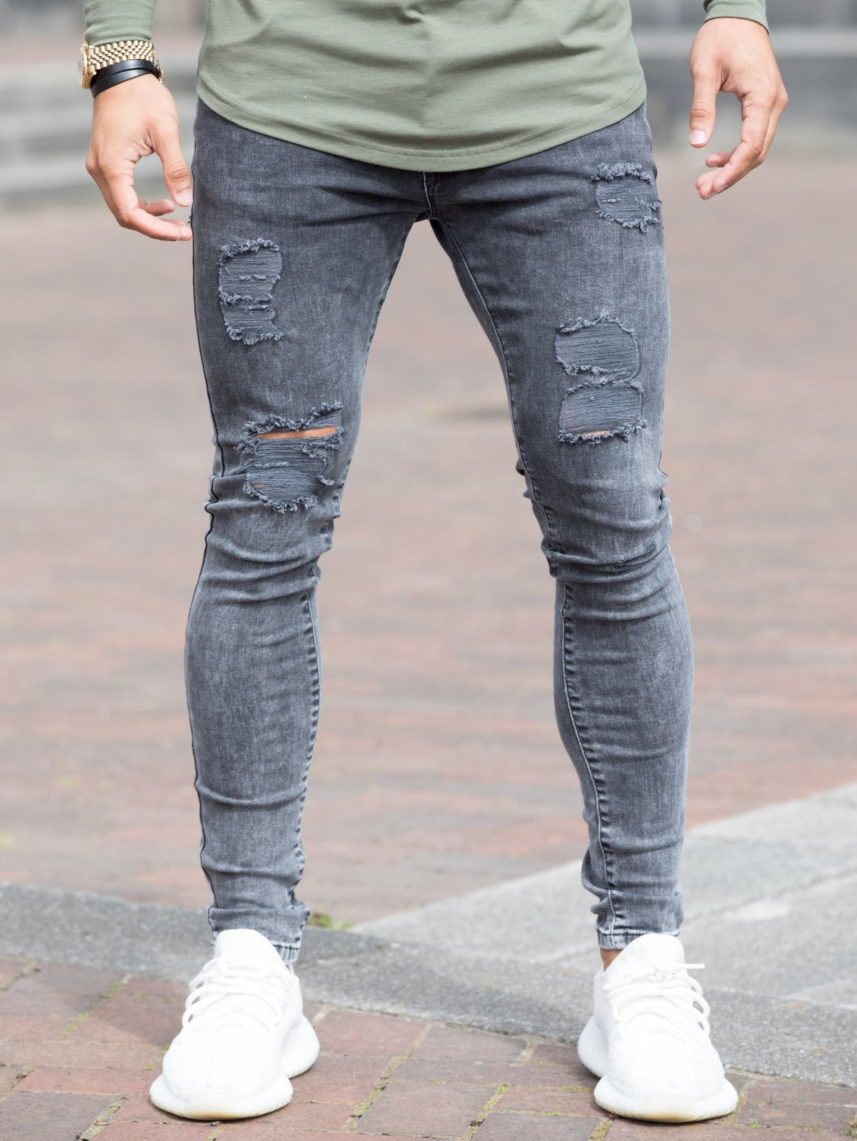 Clearance | Reflect Distressed Super Skinny Denim Jean | Bound By Honour | DSRY