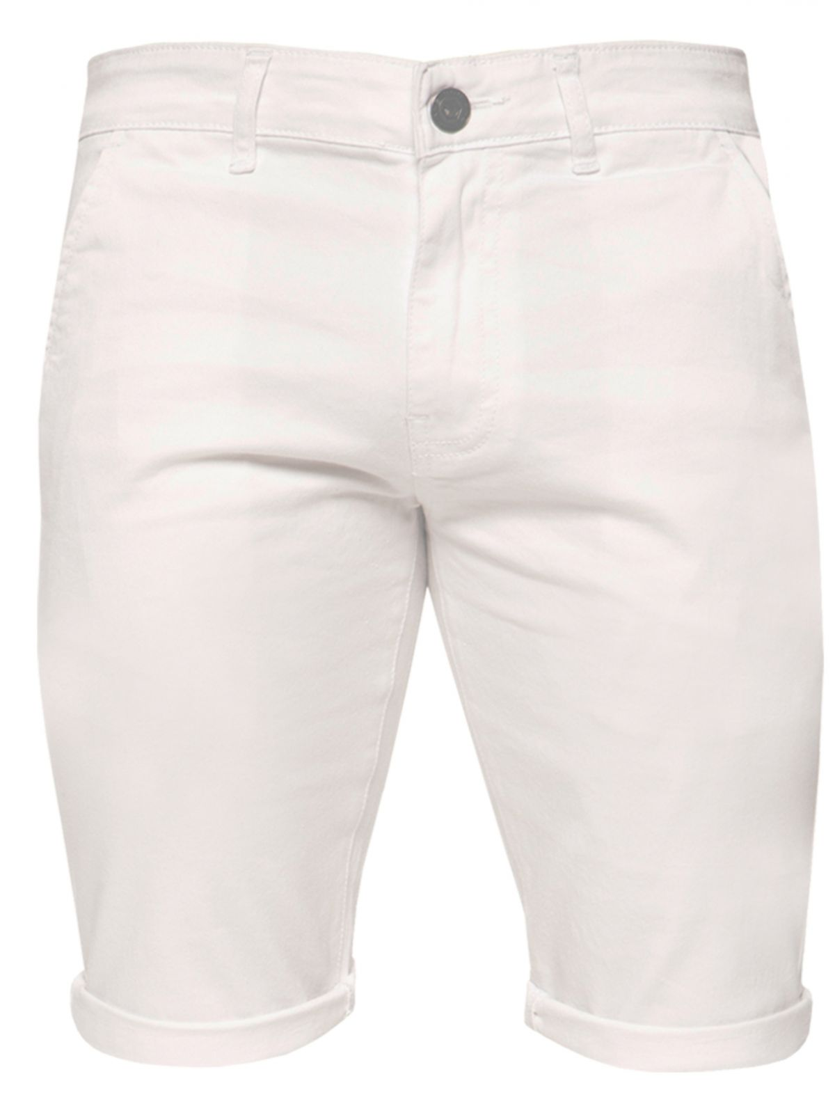Mens Slim Fit Stretch Chino Shorts | Enzo Designer Menswear