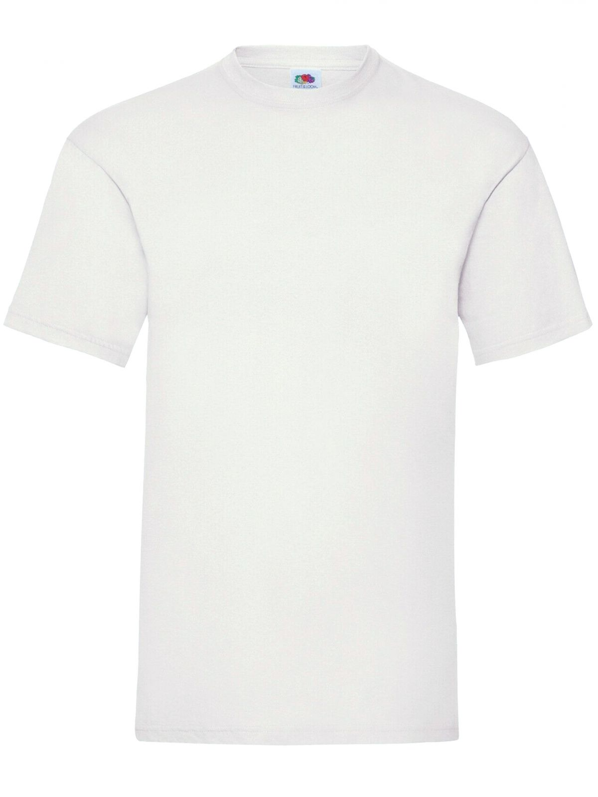 Clearance | Mens Short Sleeve Basic Fruit of the Loom T-Shirt | 7 Colours Available