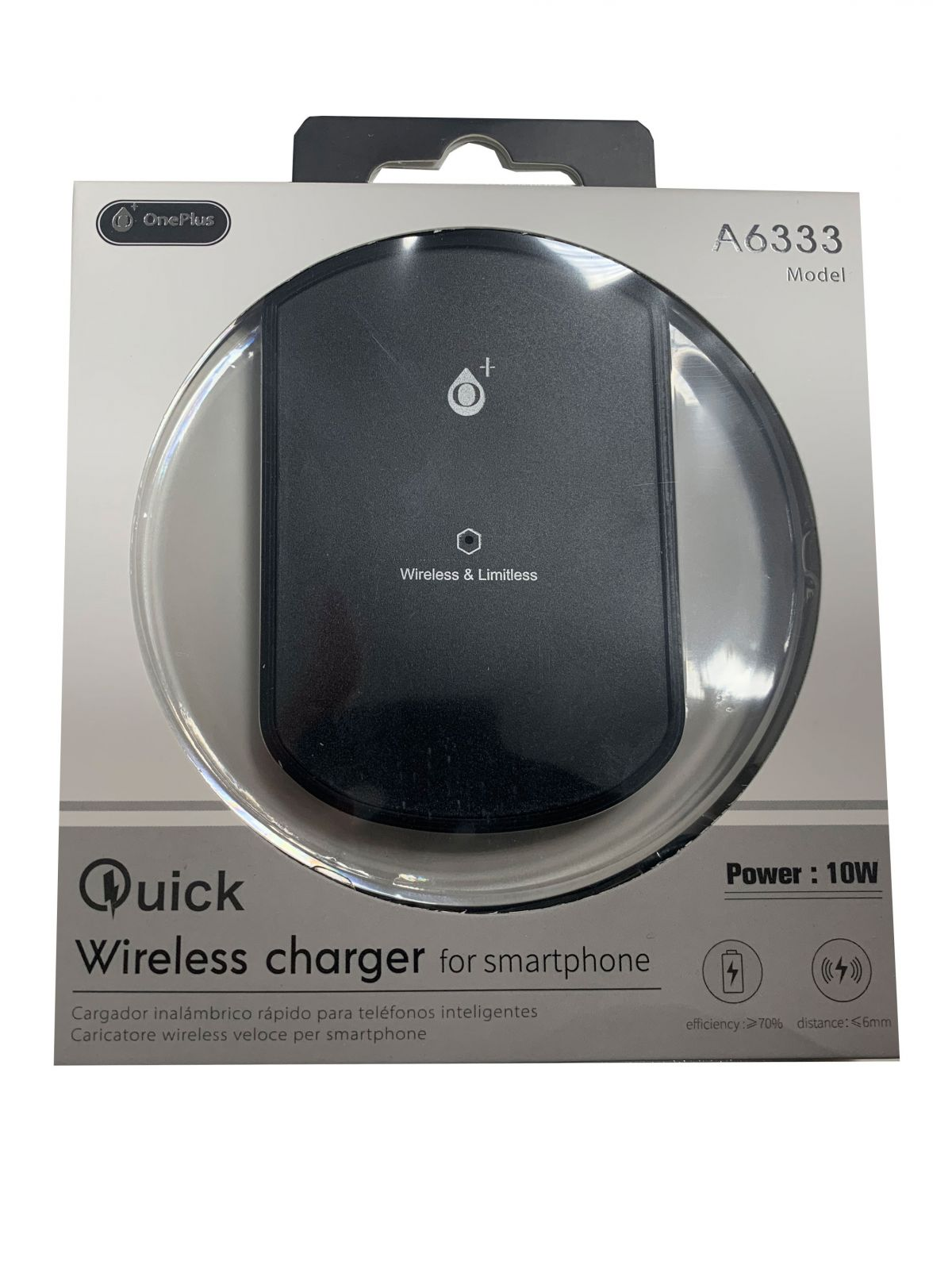 Qi Wireless Fast Charging Pad Charger