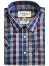 Mens Designer Short Sleeve Checked Shirt, From £10.99, Guest Brand, in  | Raw Denim Outlet