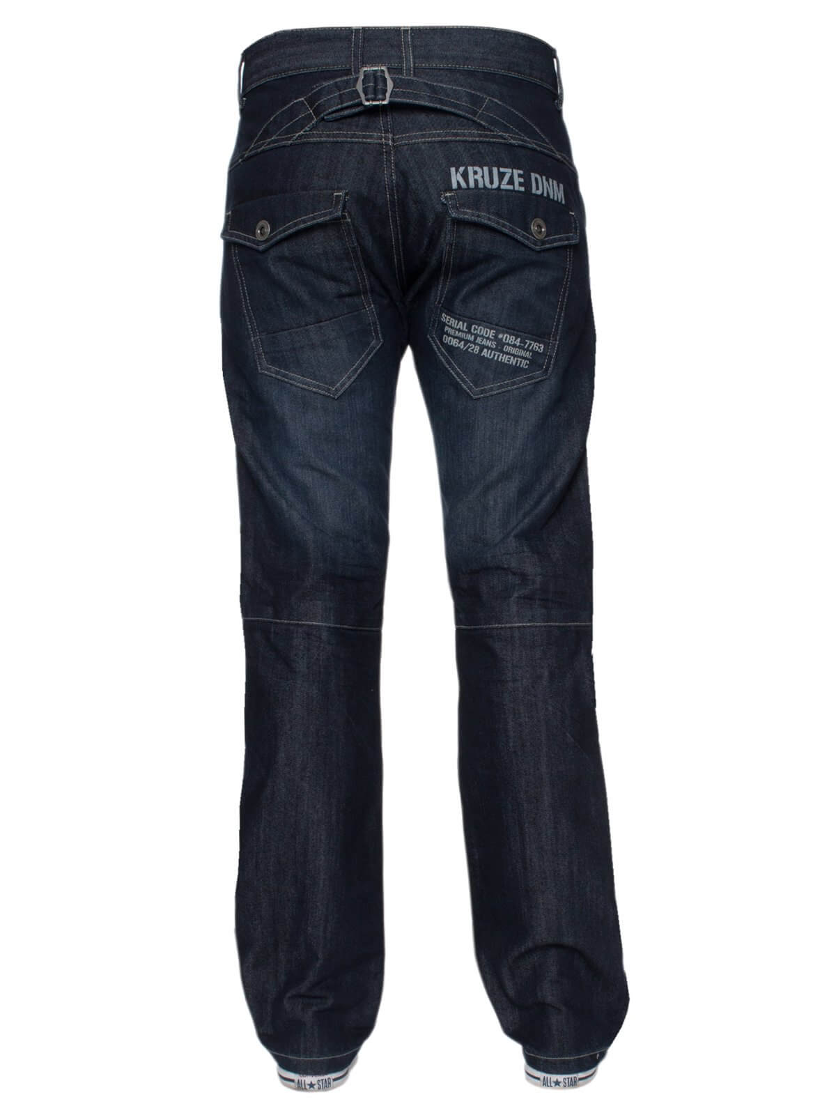 Kruze | Mens Regular Fit Branded Designer Denim Jeans