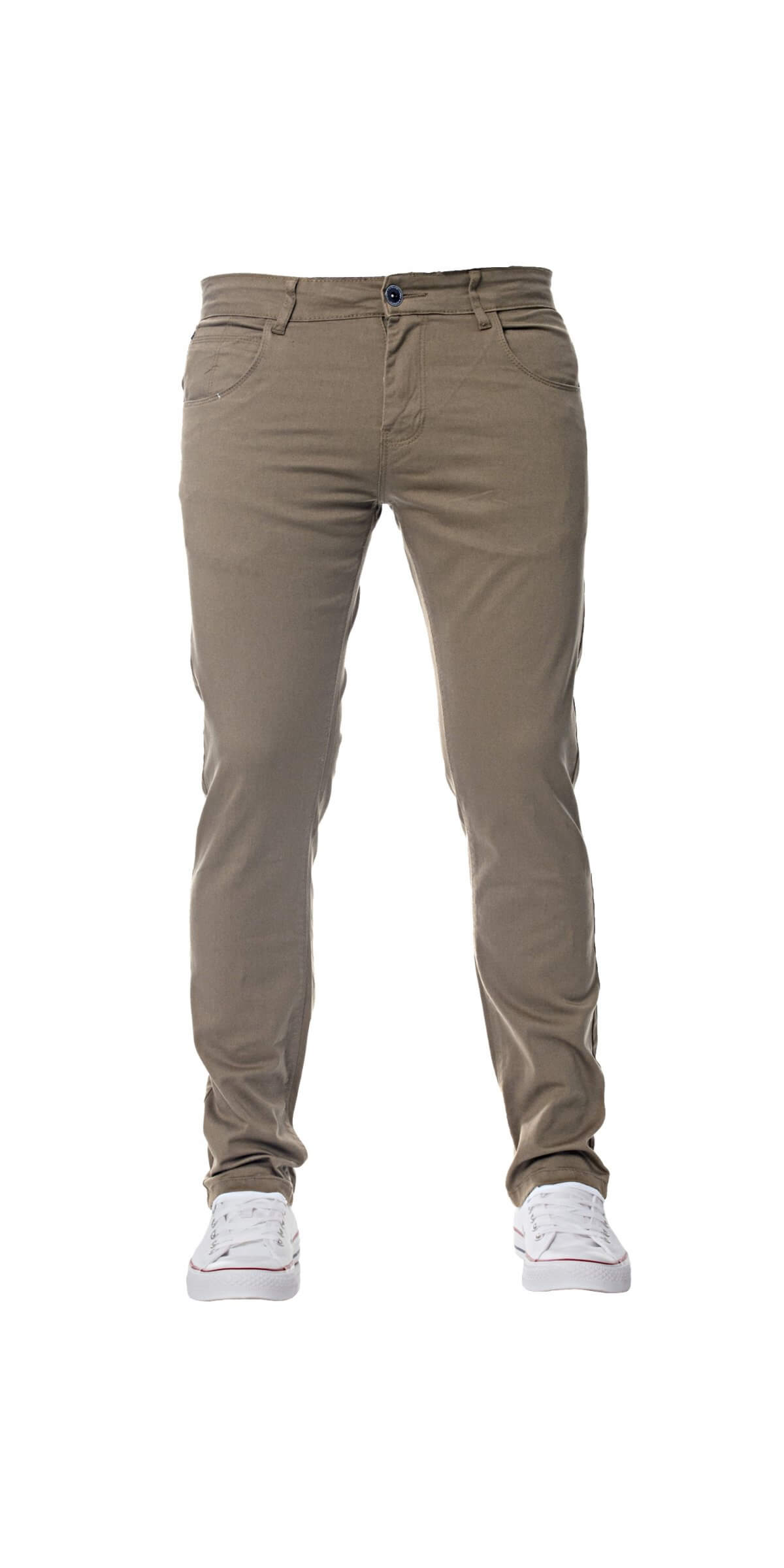 Kruze | Mens Slim Fit Stretch Chinos Available In 8 Colours | Kruze Designer Menswear