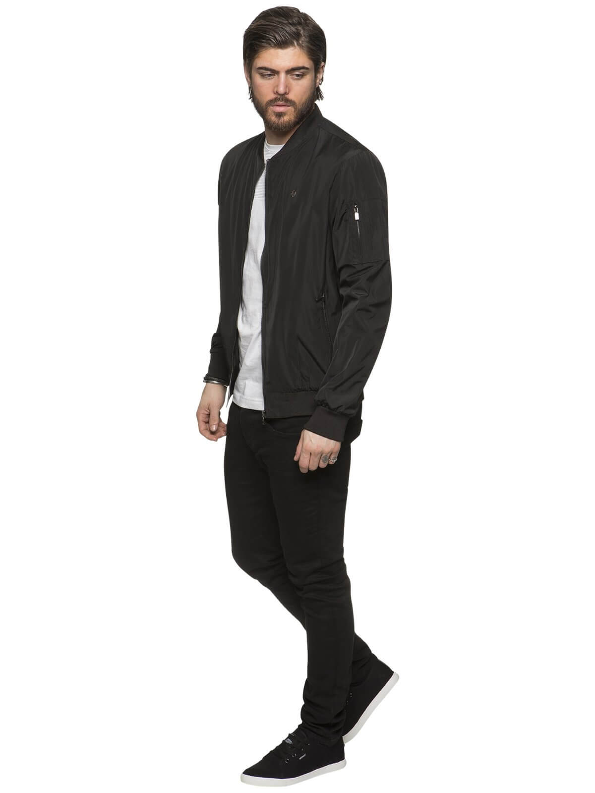 ETO | Mens Designer Move Black Jacket