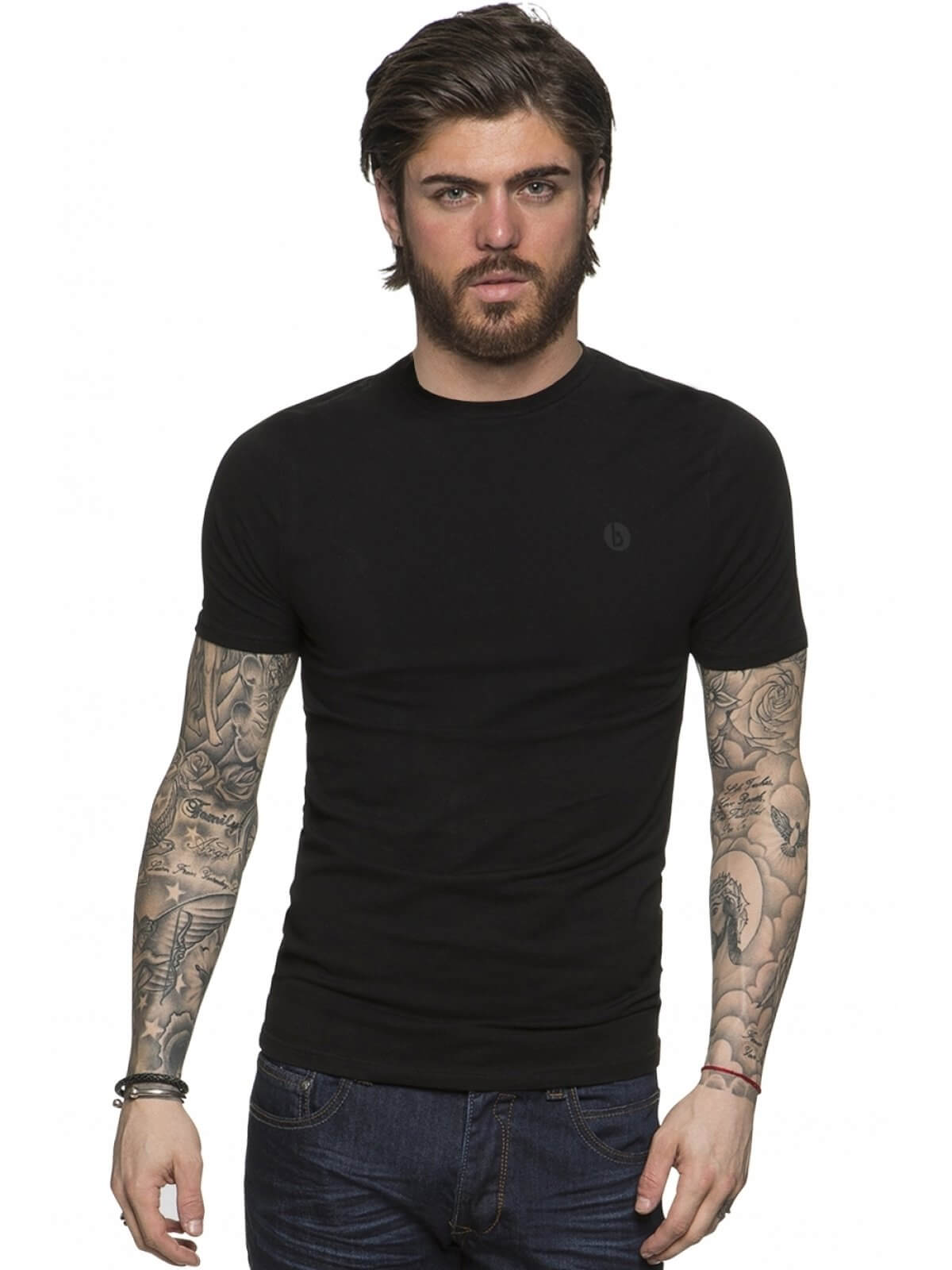 Clearance | BBH Mens Basic Short Sleeved T-shirt | Bound By Honour