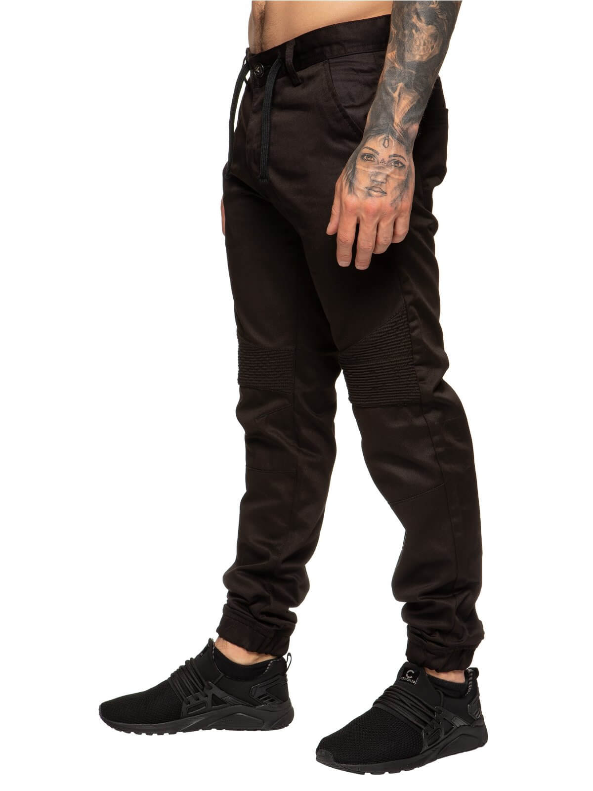 Clearance | Mens Self Cuffed Designer Denim Jeans | Enzo Designer Menswear