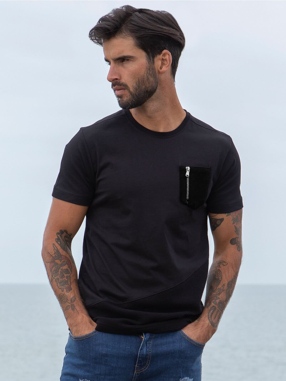 ETO Clearance | Designer Mens Black T-Shirt