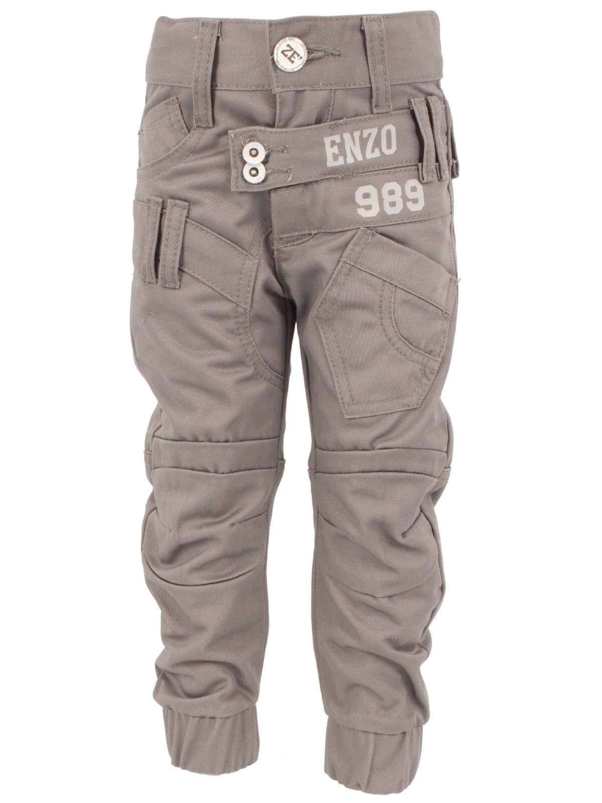 Clearance   Babies Navy Cuffed Fit Denim Jeans   Enzo Designer Babies Clothing