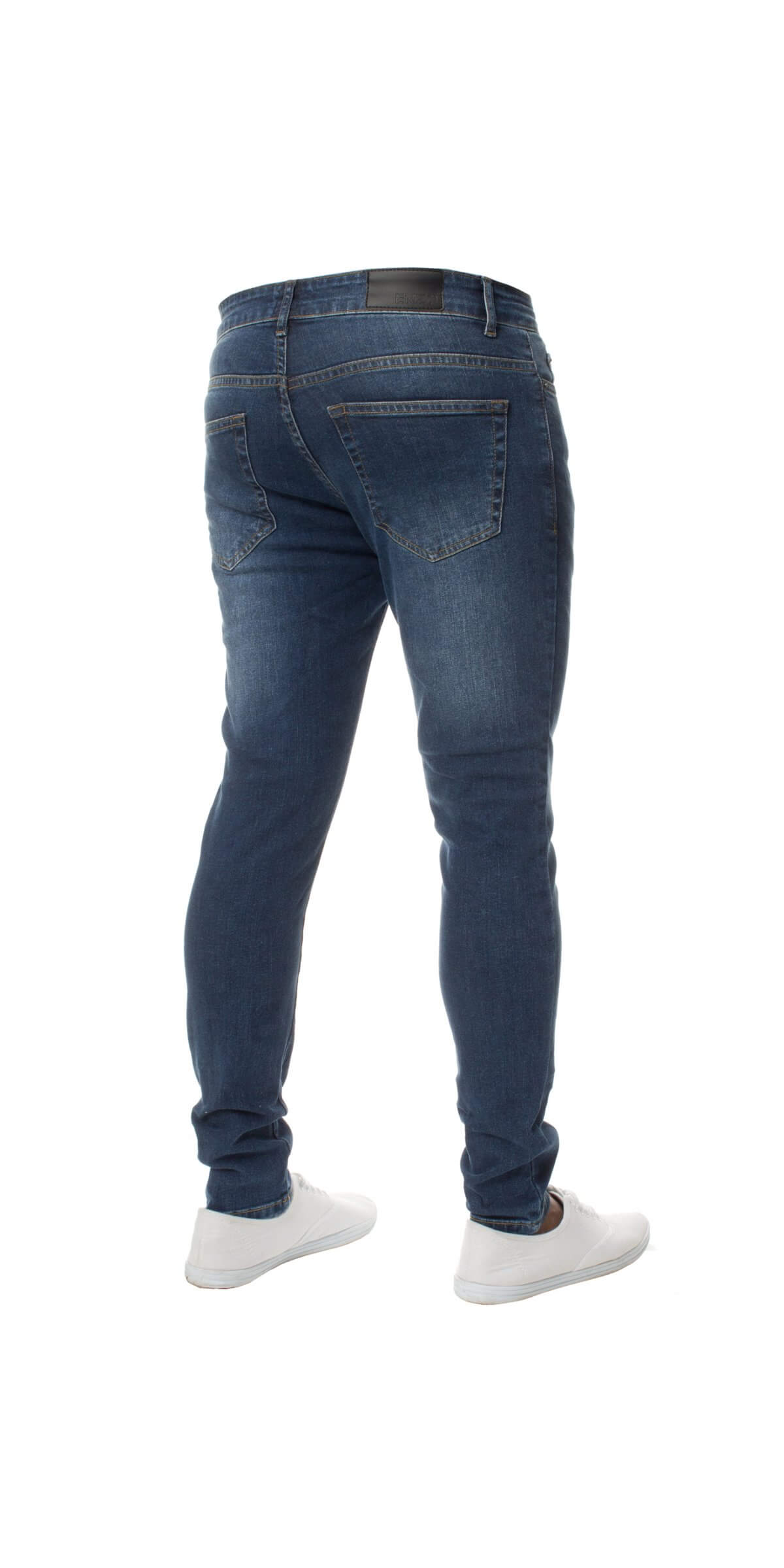 Designer Stretch Skinny Fit Denim Jeans | Kruze Designer Menswear