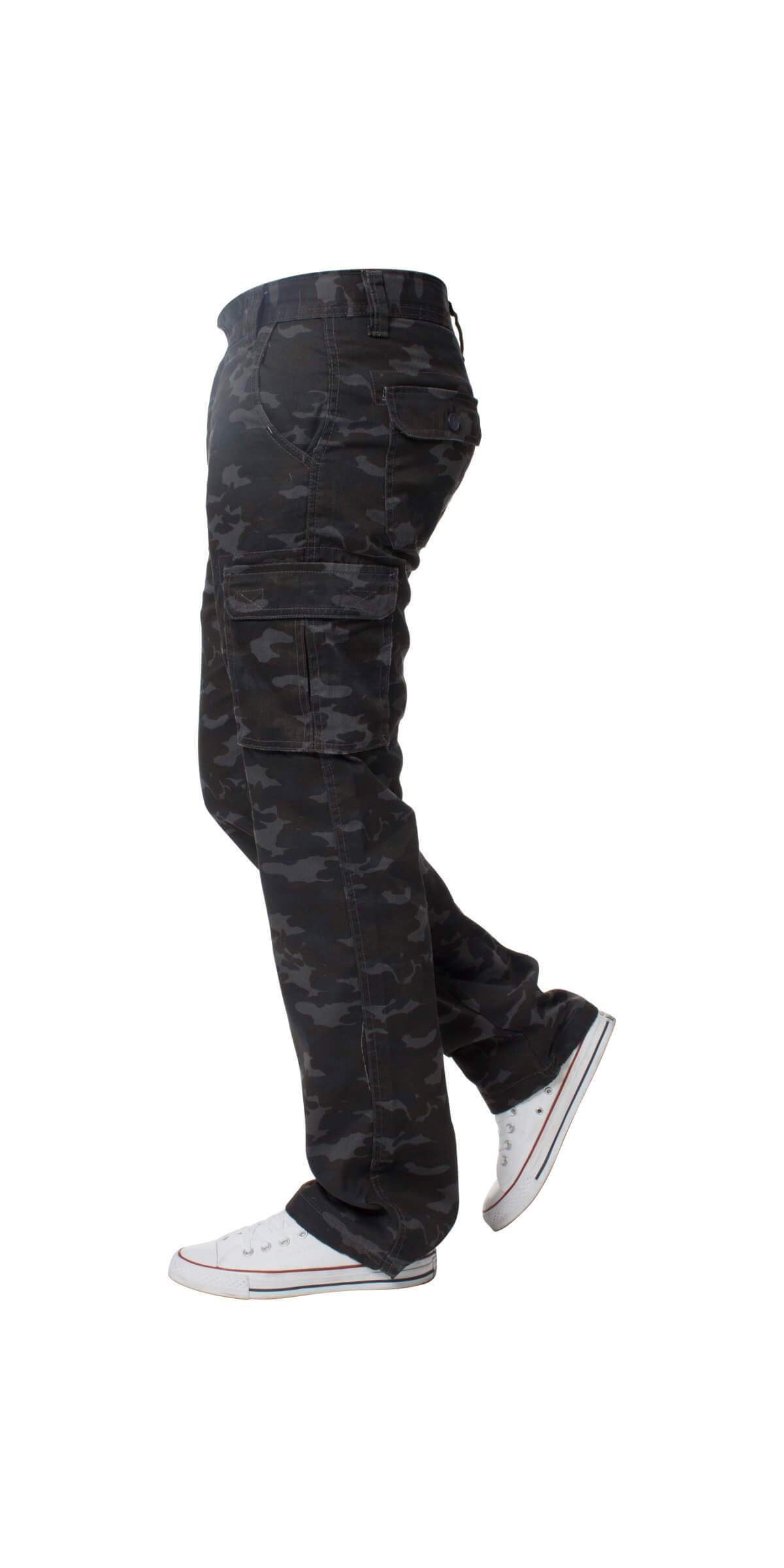 Kruze | Mens Combat Cargo Camouflage Trousers